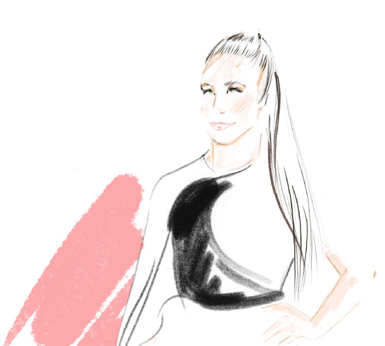 Live Sketching au gala du Perez Art Museum of Miami