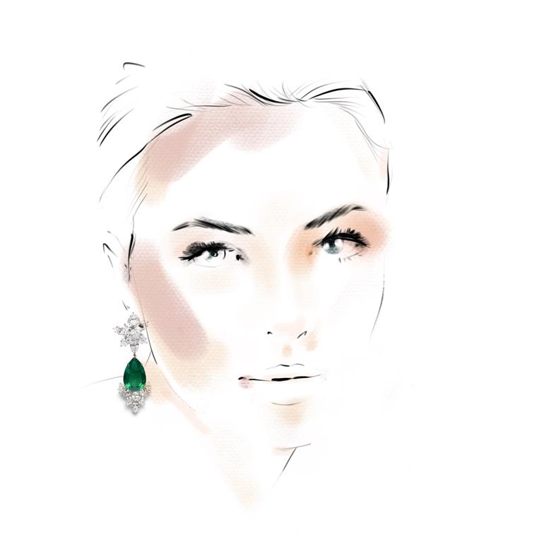 portrait live sketching