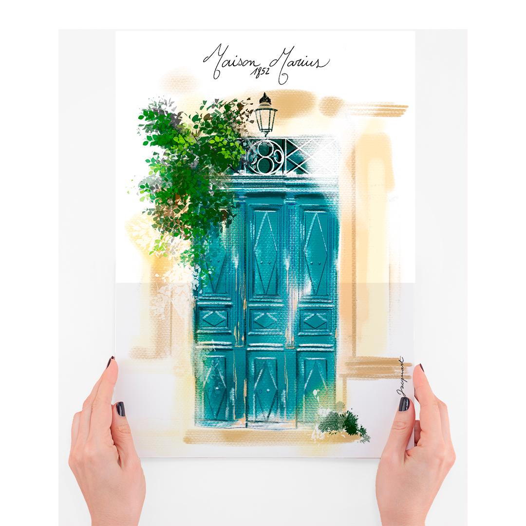 dessin de votre porte